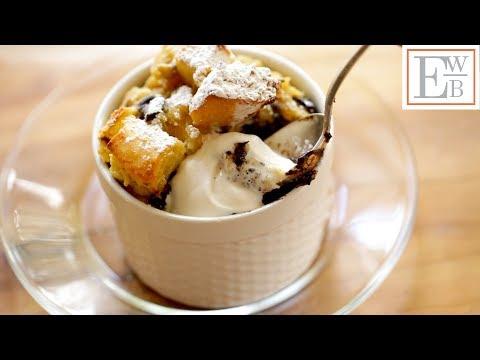 Beth's Banana Bread Pudding with Chocolate Chunks