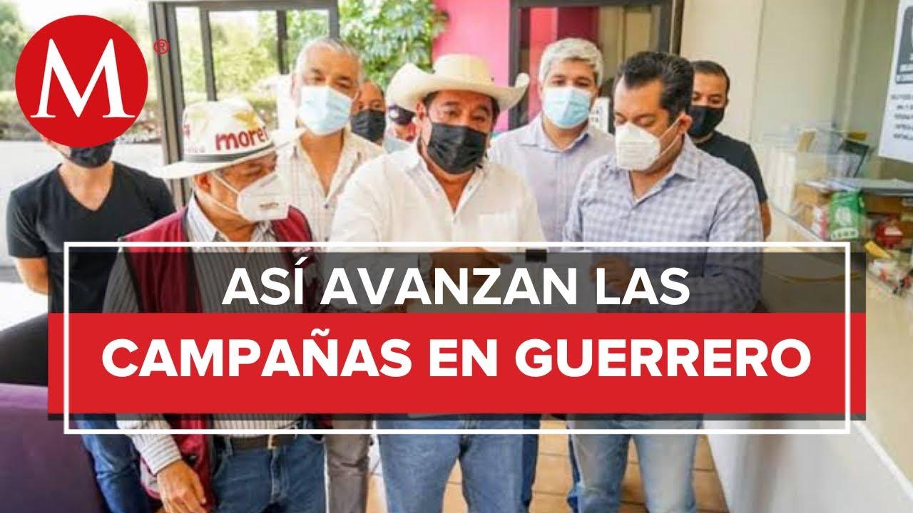 Avanzan las campañas electorales en el estado de Guerrero