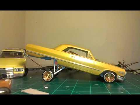 63 lowrider model car a arm hopper/dancer