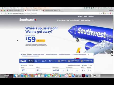 How to find cheap flights on Southwest Airlines