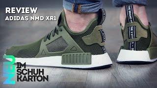 Cheap Adidas NMD XR1 Triple Black R2 Pattern