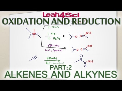 Alkenes & Alkynes Oxidation Reduction and Oxidative Cleavage