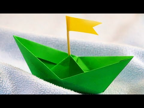 DIY Paper Boat that floats in water | Easy Paper Crafts for kids | Little Crafties