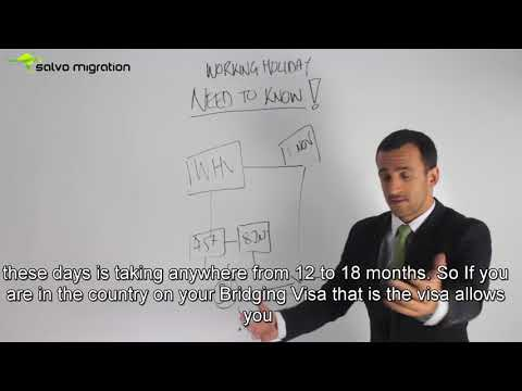 Understanding Bridging Visas if you are on Working Holiday Visa