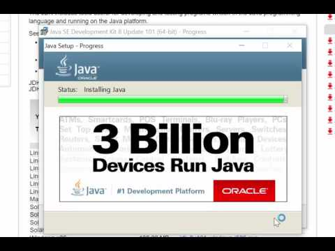 How To Install Java - Windows 8 and 10