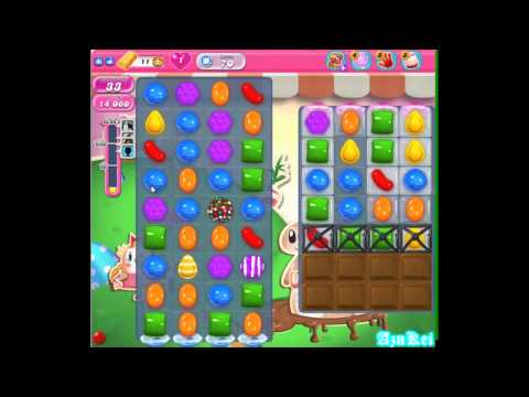 Candy Crush Saga - Level 70 (commentary)