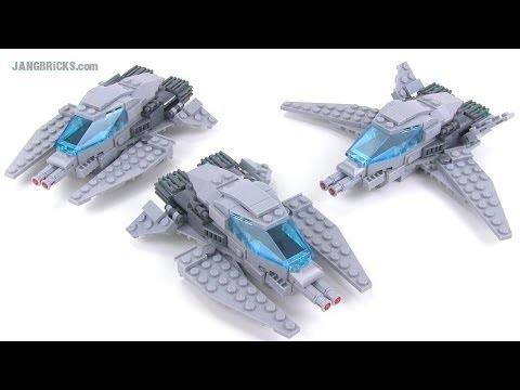 LEGO custom light space fighter craft MOCs!