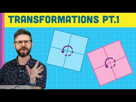 9.1: Transformations Pt.1 (Translate, Rotate, Push/Pop) - p5.js Tutorial