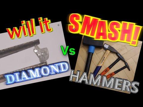 Hammer vs DIAMOND: Will it smash?