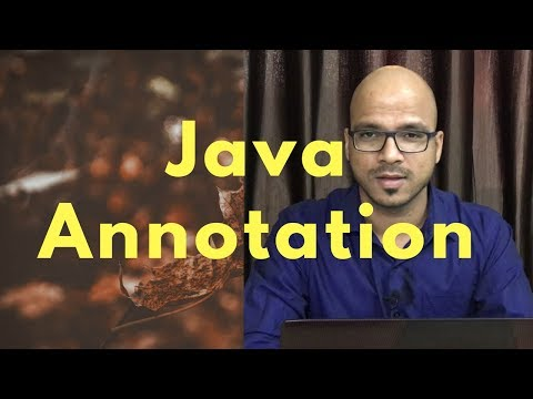15.10 Annotation in Java part 3 | Using Custom Annotation