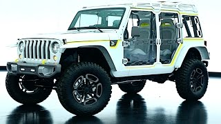2017 Jeep Safari Wrangler Concept Video Exterior + Interior New Jeep Wrangler Video 2017 CARJAM TV