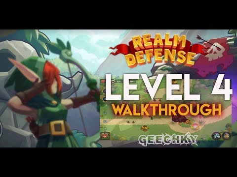Realm Defense: Hero Legends TD lv4 - Android