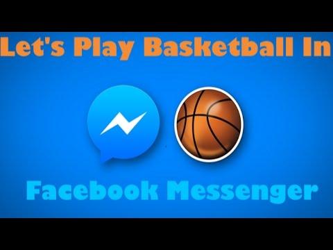 Secret Facebook Games | How to play secret basketball game in facebook messenger