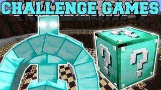 Minecraft: BLOCK GOLEM CHALLENGE GAMES - Lucky Block Mod - Modded Mini-Game