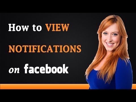 How to View Notifications on Facebook