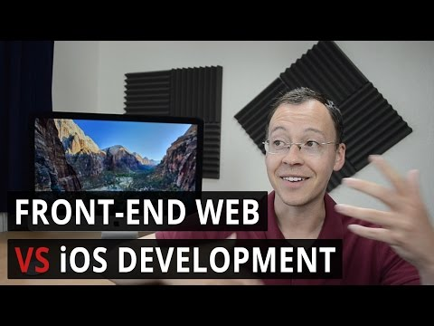 Front-end Web VS  iOS Development | career path