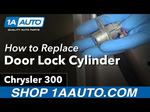 How to Install Replace Door Lock Cylinder 2006 Chrysler 300