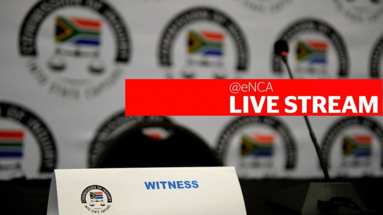 Matshela Koko testifies at state capture inquiry