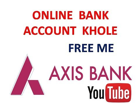 How to Open Zero Balance Bank Account in Axis Bank || in hindi