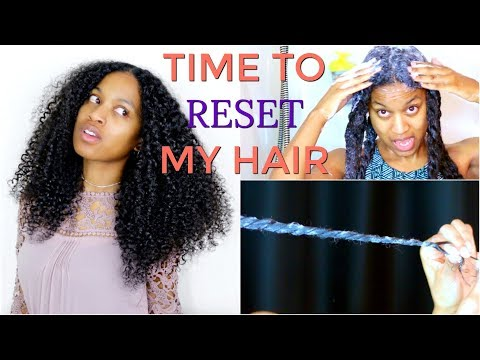 Basic Wash Routine for Build Up On Natural Hair (ALL HAIR TYPES)