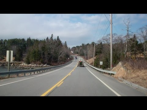 Coastal Maine Route 1 in Time Lapse