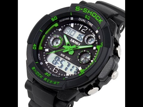 Drelectronics sk dual Time watch product info