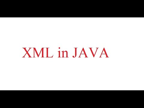 How to use XML in Java - Using DOM Parser