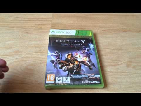 Destiny The Taken King Legendary Edition Unboxing Xbox360