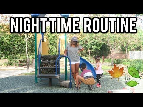 My Fall Night Routine! Single Mom edition!