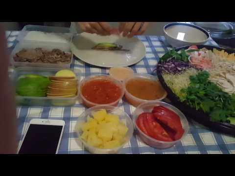Rice paper roll,Korean Style.mp4