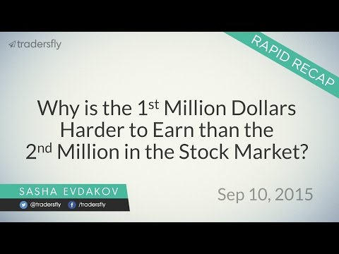 Why the 1st Million Dollars is Harder to Earn than the 2nd Million in the Stock Market