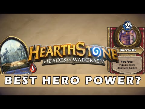 Getting The Best Hero Power in Hearthstone