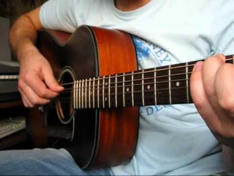 Скажи, откуда ты взялась (Игорь Тальков) на гитаре.