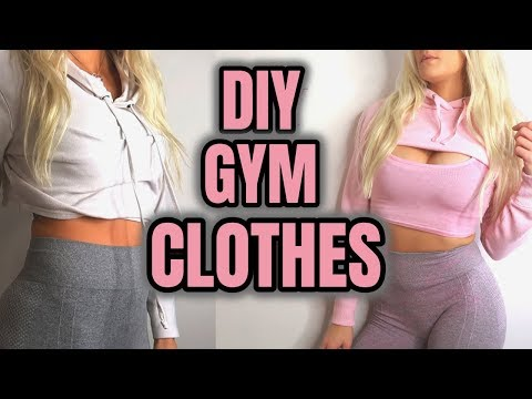 DIY WORKOUT CLOTHES