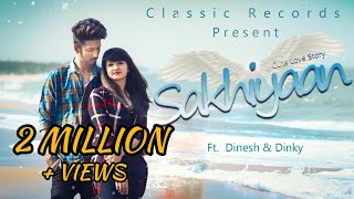 Sakhiyaan  Maninder Buttar  Cute Love Story Mixsingh Babbu New Punjabi Songs Punjabi Song 2018