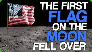 The First Flag On The Moon Fell Over Clueless Tourists And Expats