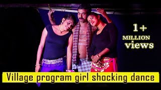 recording dance   telugu drama 2019   telugu recording comedy   recording dance