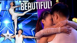 Unforgettable Audition: Gao and Liu show us the POWER of LOVE   Britain's Got Talent