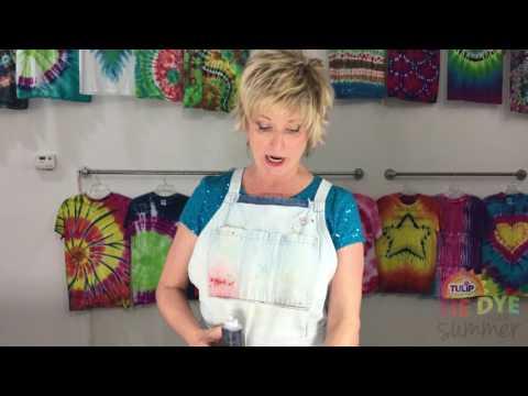 Tie Dye Tips:  Best fabrics for tie dyeing