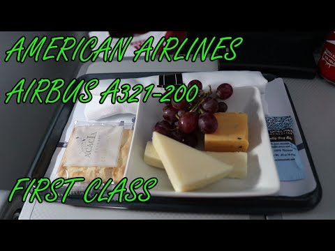American Airlines Airbus A321-200 First Class | Punta Cana - Miami