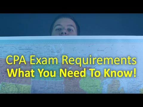How To Sign Up For The CPA Exam In Your State | CPA Guide TV Ep 02