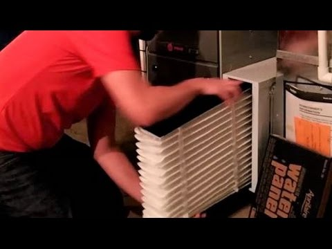 Replacing Your Whole Home Air Filter - Aprilaire Air Purifier