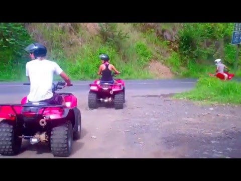 ATV to Waterfall Tour - Jaco Beach Costa Rica Bachelor Party #1 Location