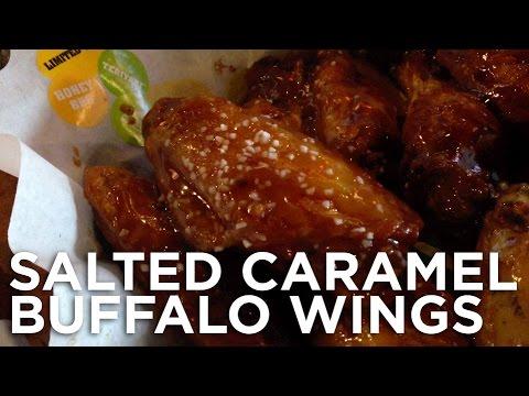 SALTED CARAMEL BUFFALO WINGS: Freezerburns