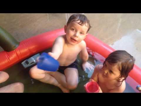 The Heated Paddling Pool; Success!