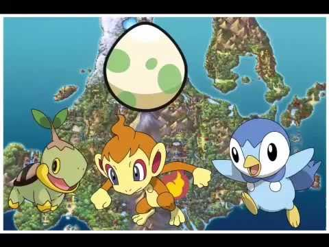 How to get Chimchar turtwig and piplup egg on Platinum
