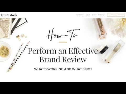 How to do a Brand Review