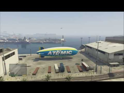 First Time Flying THE ATOMIC BLIMP