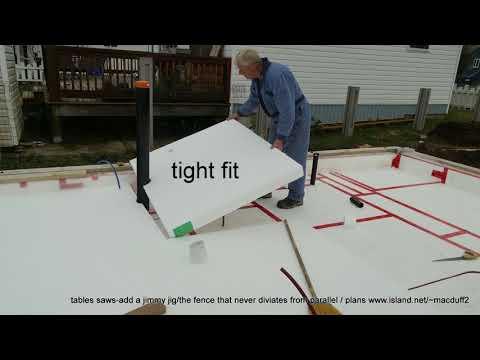 Passive house Construction In Port Alberni BC Canada video #5 all sealed then the concrete pad