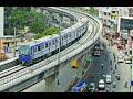 Chennai metro rail from Airport to Nehru park